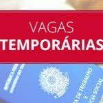 Trabalhe Conosco Vagas Temporárias